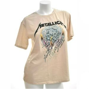 Metallica Band Graphic Tee (Divided) Women's Large
